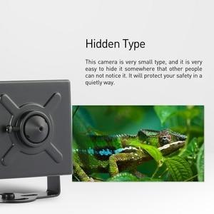 Image 4 - POE Mini Type HD 1080P IP Camera 3.7mm Lens Metalen 2.0MP Indoor Security Camera ONVIF P2P IP CCTV cam