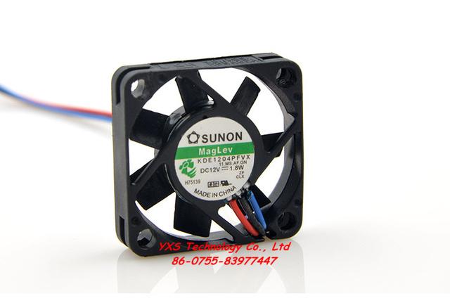 4010 40*40*10mm 4 cm ventilador de refrigeración DC12V 1.8 W KDE1204PFVX 3 cables intercambiador