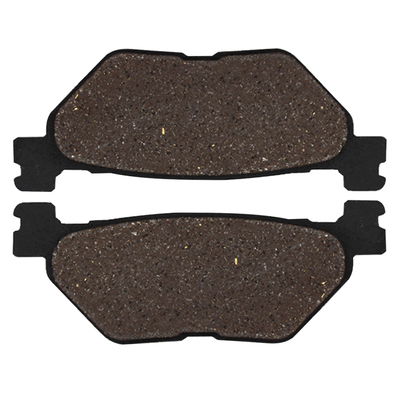 Cyleto Front and Rear Brake Pads for YAMAHA XVS950 V-Star 950 Tour 2009-2014 XVS950A Midnight Star 2009-2013 XVS950R XVS 950 Bolt 2014 2015 2016