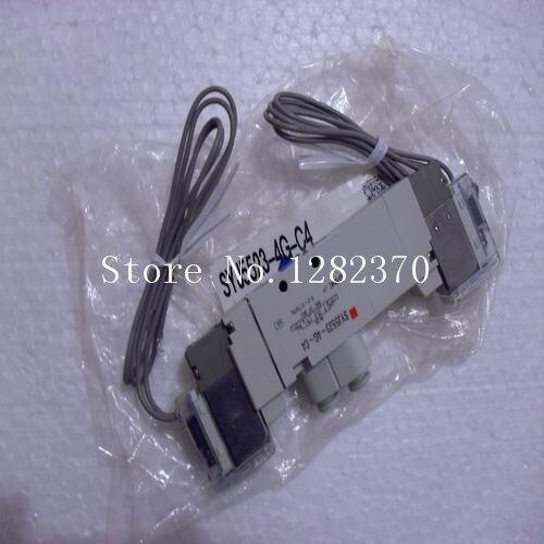 [SA] New Japan genuine original SMC solenoid valve SYJ5523-4G-C4 spot [sa] new japan genuine original smc solenoid valve syj5523 4g c4 spot