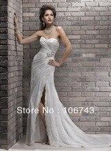 2013 new style best  seiier Sexy bride wedding Custom sizes lace flowers lace up  princess weindding dress
