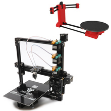 he3d auto level large build area E3D nozzle triple extruder tricolor 3d printer diy kit support multi filament  high speed autoleveling he3d k200 delta 3d printer kit diy printer single nozzle extruder support multi material