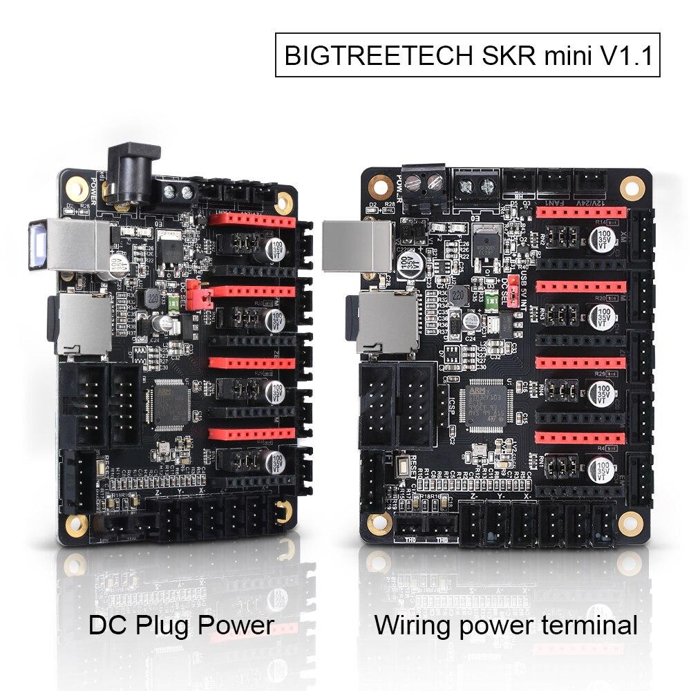 BIGTREETECH SKR Mini V1.1 32Bit Control Board ARM CPU 32 Bit 3D Printer Parts TMC2130 SPI TMC2208 A4988 Driver Reprap MKS GEN L