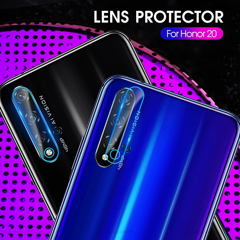 Tempered Glass Camera Protector For Huawei Honor 20 Pro 10 Lite Lens Protective Glass For Honor 10i 20i View 20 i 10 Back Film image