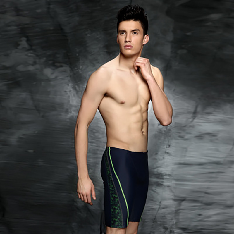 2018 new professional racing trunks slim and fast fitting swimming trunks