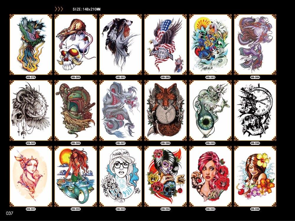 fácil de pegar cruel hombres tatuaje largo y largo brazo arte - Tatuaje y arte corporal - foto 5