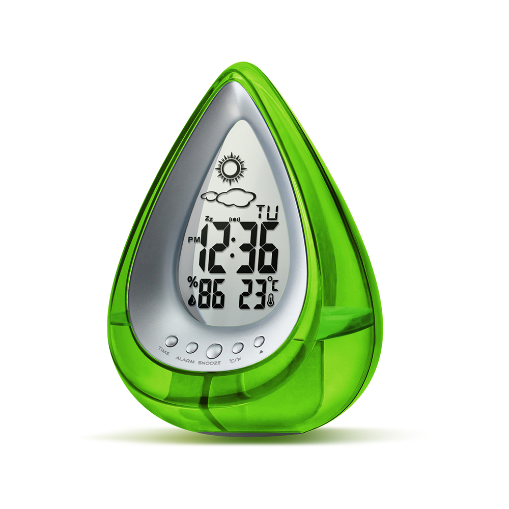 Water Powered Eco-friendly Digital Clock 40