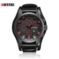 Relogio Masculino Curren Sports Men Quartz Watch Top Brand Luxury Watches Army Military Men WristWatch Reloj