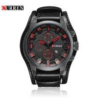 Relogio Masculino Curren Sports Men Quartz Watch Top Brand Luxury Watches Army Military Men WristWatch Reloj