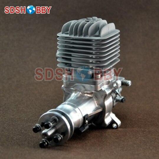 DLA32 CNC moteur à essence traité/moteur à essence 32CC pour avions à gaz avec monocylindre