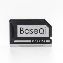 BASEQI Aluminum MiniDrive Micro SD Card Adapter Memory Card Reader For Asus ZenBook Flip ux360CA 610A