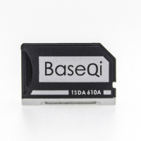 BASEQI Aluminum MiniDrive Micro SD Card Adapter Memory Card Reader For Asus ZenBook Flip Ux360CA 610A