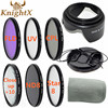 KnightX UV CPL FLD Graduated Polarizing Color ND Filter Set For Canon Nikon Sony Lenses D90