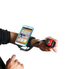 Generalscan WT1000 Smart Wearable Armband with Wired Bluetooth Ring mini Barcode Scanner For Inventory Management