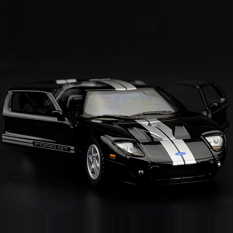 High Simulation Exquisite Diecasts & Toy Vehicles: KiNSMART Car Styling 2006 Ford GT SuperCar 1:36 Alloy Diecast Model Toy Car