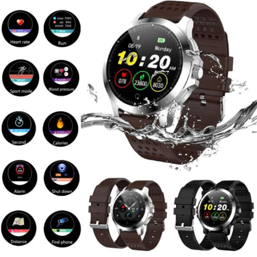 W8 180mAh Smart Watch Color Screen ECG And PPG Waterproof IP67 Sports Stopwatch For Android iOS
