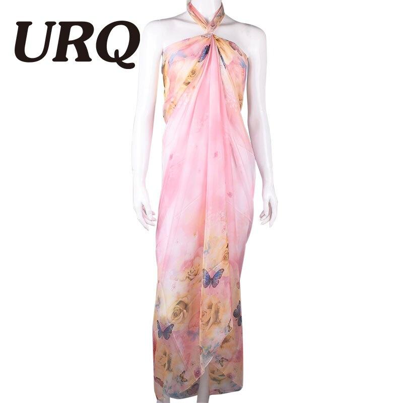 190*150cm 2016 Summer Print Silk Scarf Oversized Chiffon Sca