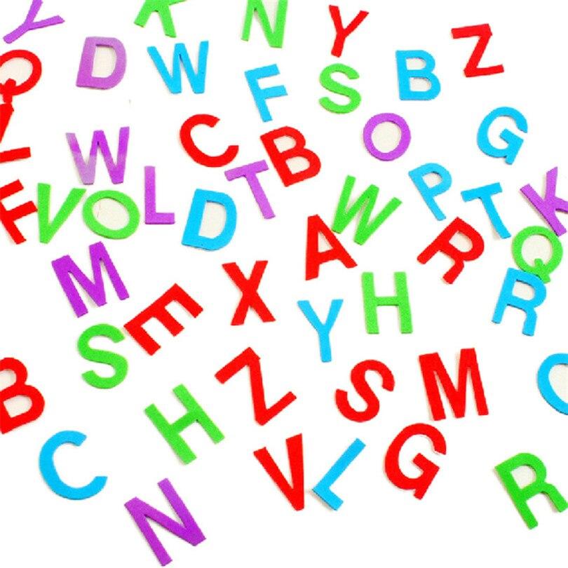 Foam Stickers Kinderkamer.Snoep Kleur Engels Brief Muursticker Diy Eva Foam Sticker Voor