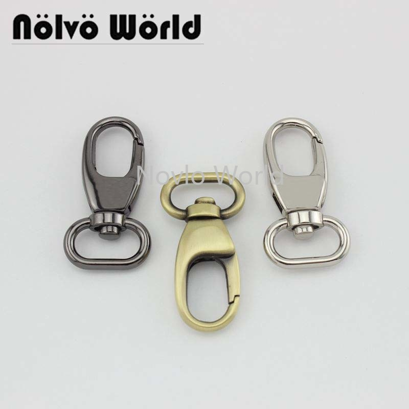 "4 pieces test, 53*20mm 3/4"" small quantity  metal strap buckle for bags, dog collar lobster clasp swivel snap hook accessories()"