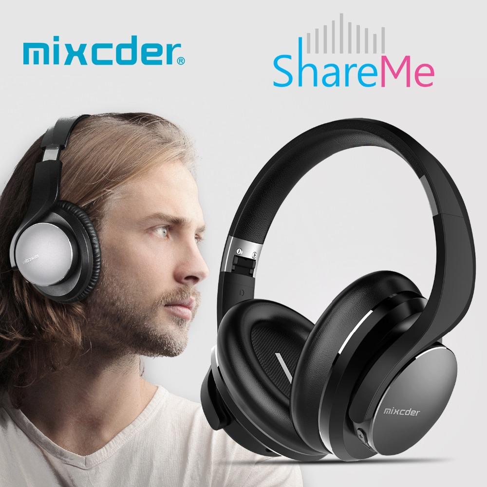 Prix pour Mixcder shareme 5 sans fil casque stéréo casque bluetooth casque sur l'oreille fone de ouvido pour mobile iphone samsung