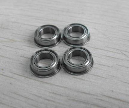 100pcs Flange bearing MF117ZZ  LF1170ZZ  F677ZZ  Flanged  Shielded Miniature deep groove  Ball Bearings 7*11*3 mm
