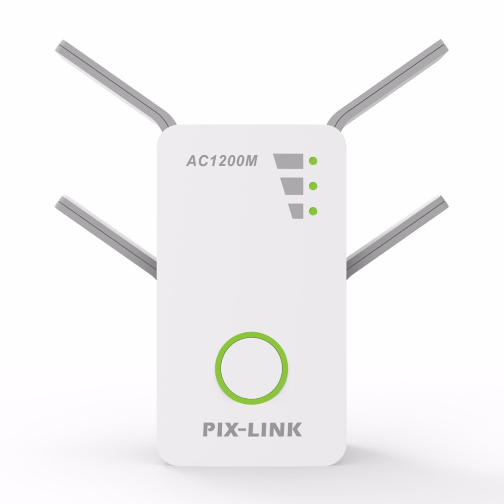 Wireless AC Dual Band 1200M 2.4Ghz 5GHz Mini Router Wifi Range Repeater Extender Booster US/EU/UK/AU Wall Plug English Firmware цена