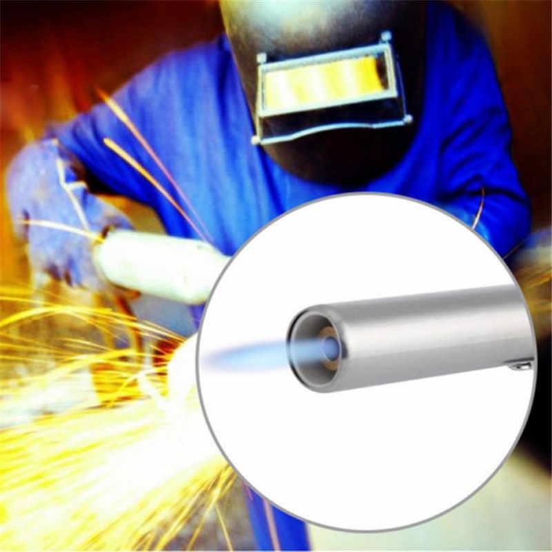 Нержавеющаясталь металл пламени сварочная газовая горелка зажигалка Отопление зажигательный бутановый Портативный Кемпинг сварочная газовая горелка для барбекю, I886097