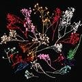 1 Пакета(ов) 10 г Сухих Цветов 3D Nail Украшения Babysbreath Довольно Сохранились Цветок Маникюр Типсы Украшения