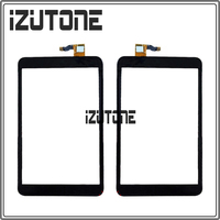 100 Warranty Black Touch Screen Digitizer Front Glass Replacement For Alcatel One Touch P320 P320X POP