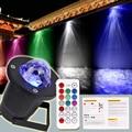 1 XNew Exterior Llama/Ocean Wave Proyector Led Luz de La Navidad Proyector Impermeable IP65 Del Jardín Del Césped de 7 Colores Led de La Lámpara con Mando A Distancia