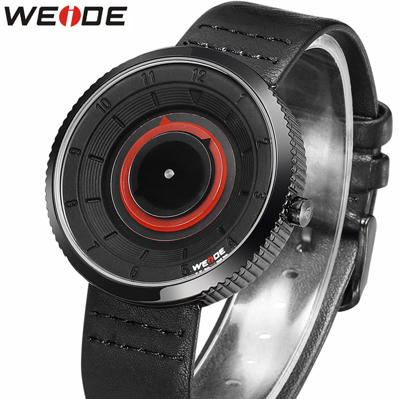 WEIDE Sport Men's Watches Top brand luxury Watch men High Quality Leather Waterproof Quartz Wrist Watches For Men Relojes Hombre weide luxury brand running waterproof sport watches for men blue dial analog digital display wrist watch gifts for men