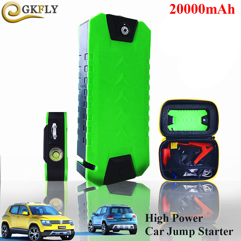 High Power 20000mAh Car Starter 600A Portable Starting Device Emergency Car Charger For Car Battery Booster Auto Jumper Buster