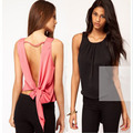Sleeveless T Shirt Women Vintage Retro Ethnic T-Shirts Two Color Pattern tshirt Femme Tops Summer 2016 Plus Size Pink Black