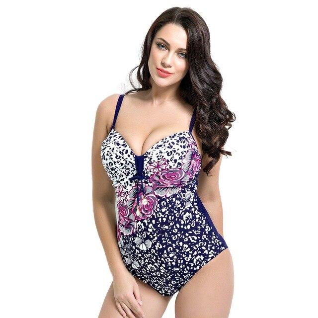 0c02ac455 Women One Piece Swimsuit Plus Size Monokini Girls Swimwear Sexy Swimsuit  Bathing Suit for Girls Trikini Summer Beach Swim Print