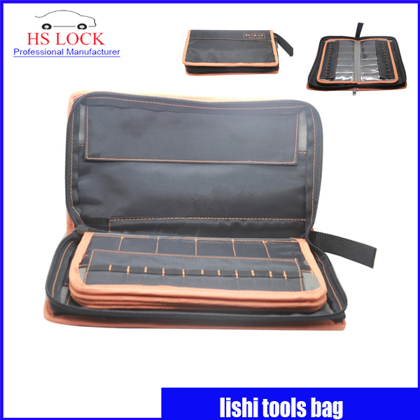 LISHI Special Nylon materials Carry Bag Case Locksmith Tools Storage Bag (Only Bag) Locksmith Supply ballistic nylon tools bag for tools storage 280x245x180mm
