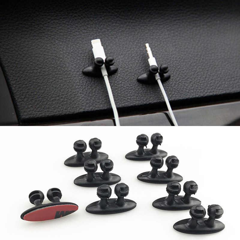 8 pezzi di clip di filo elettrico cavo del trasduttore auricolare morsetto per Mazda 2 3 5 6 CX5 CX7 CX9 Atenza Axela