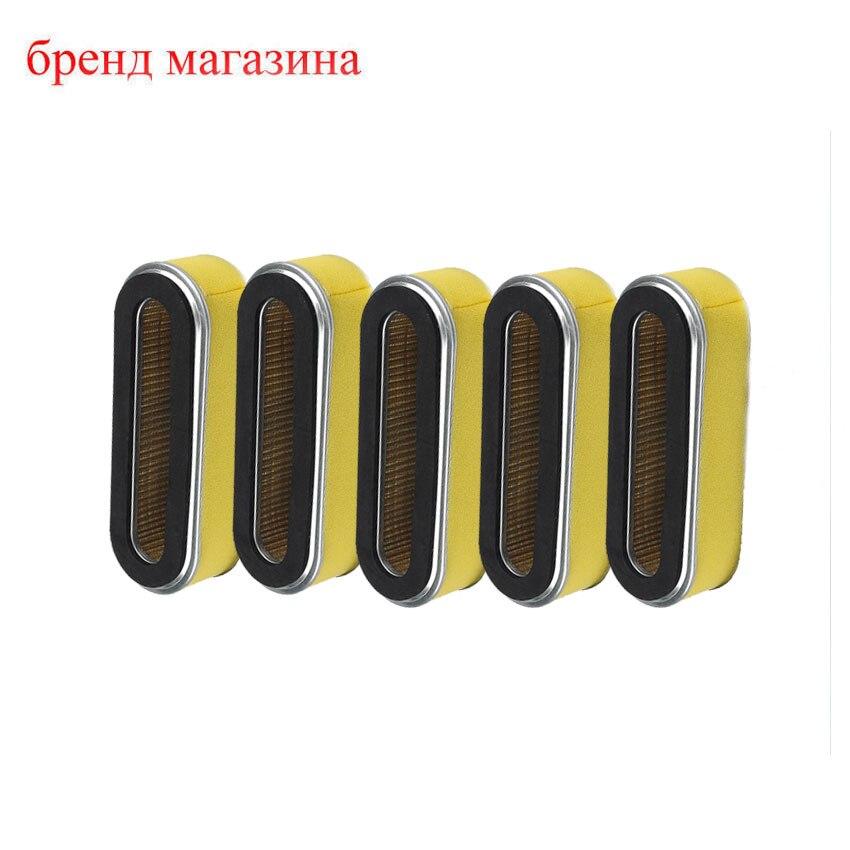 ФОТО 5*pcs Air filter Filters Fits Honda GXV160 HRC216K HRC216K1HA 17211-ZE7-W03 17211ZE7W03 Lawn Mower Motor Parts