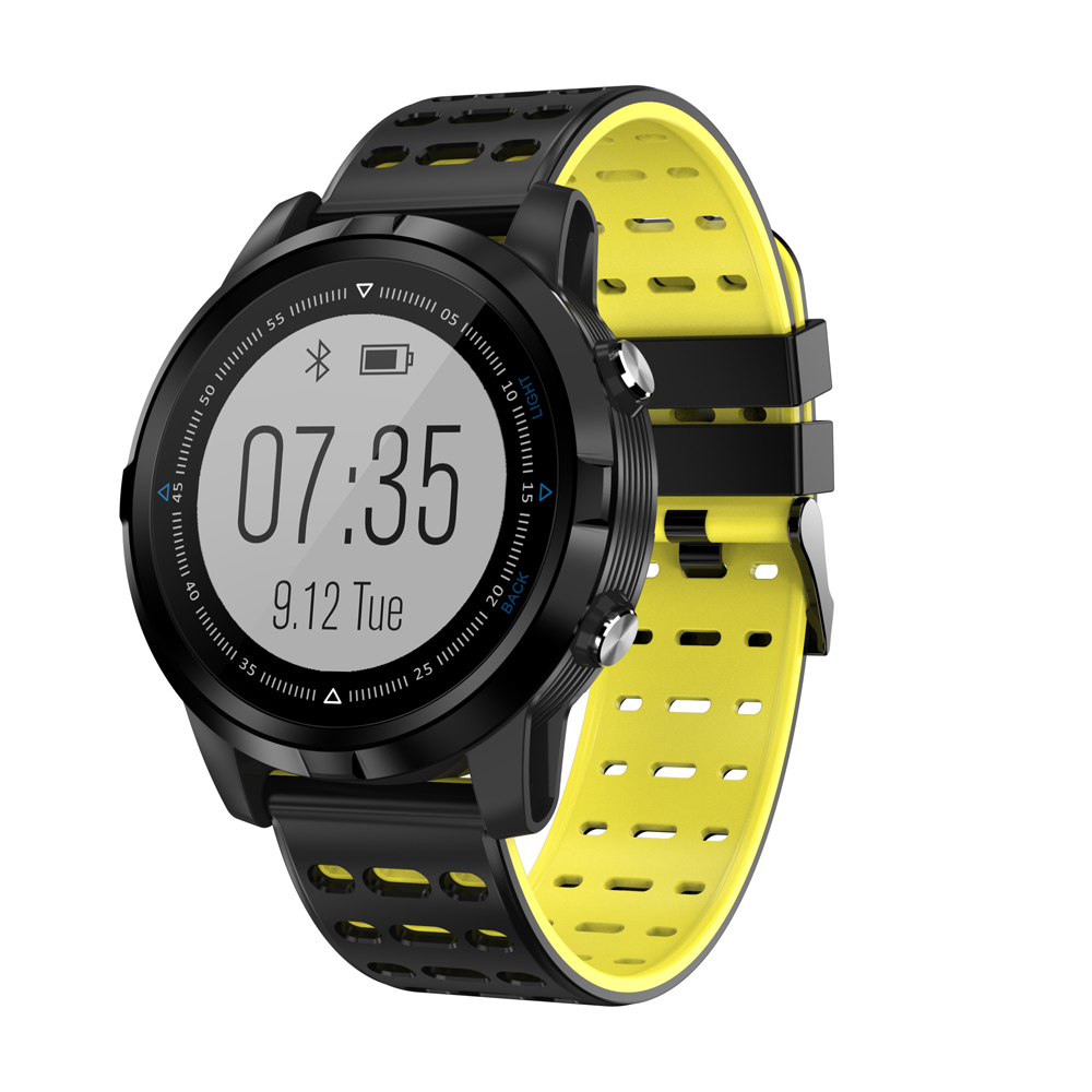N105 GPS Smart Watch IP68 Waterproof Smartwatch Dynamic Heart Rate Monitor Multi-sport Men Swimming Running Sport Watch VS S968