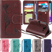 9 Card Slot Flip Cover PU Leather For Coque Samsung Galaxy J5 2015 J5 Sm J500F