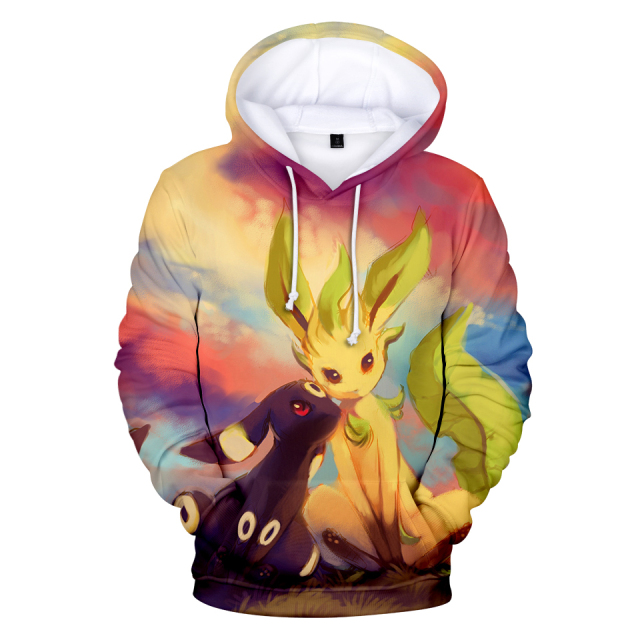 BTS Hoodies Kawaii 3D Pokemon Print Sweatshirt Long Sleeve Women Hoodies Clothes 2018 Hot Sale Casual Harajuku Tops Plus Size