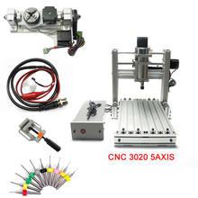 5axis cnc engraving machine mach3 control 3020 router mini customizable engraving machine control box industrial cnc control cabinet mach3 system 220vac cnc cutting machine