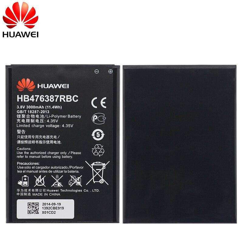 Hua Wei Original Replacement Phone Battery HB476387RBC For Huawei Honor 3X G750 B199 3000mAh