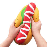Big Squishy Extra Hot Dog Large Squishies Sausage Jumbo Squish Slow Rising Simulation Food Relief Antistress Squeeze Kids Toys
