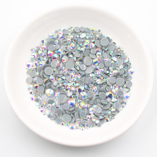 Ss3-ss50 High Quality Crystals Glass Rhinestones Flatback Glue On Hotfix Rhinestones Stones and Crystals Rhinestones For Clothes gorgeous artificial crystals rhinestones oval necklace for women