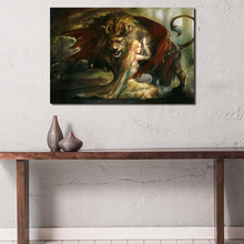 Beauty Beast Realistic HD Wall Art Canvas Posters Prints Oil Painting Wall Pictures For Bedroom Modern Home Decor Accessories beauty beast movie wallpaper wall art canvas posters prints oil painting wall pictures for bedroom modern home decor accessories