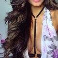 harajuku sexy bondage underbust pastel Goth Lingerie Elastic Harness cage bra lingerie Bondage Leather harness belt women bras