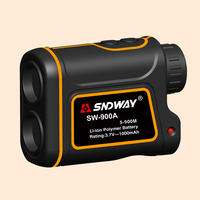 FREE SHIPPING SNDWAY Telescope Trena Laser Rangefinders Distance Meter Digital 8X 900M Monocular Hunting Golf Laser