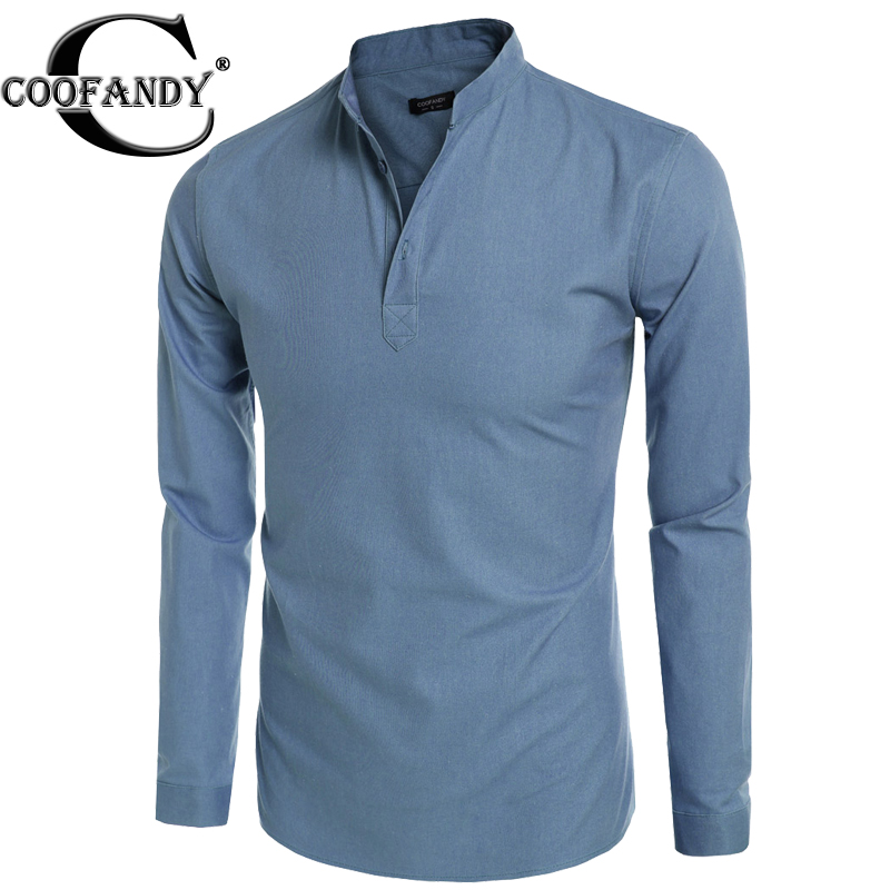 shirt fashion autumn solid slim fit casua t shirt henley shirts. Black Bedroom Furniture Sets. Home Design Ideas