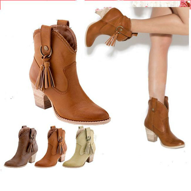 Fashion Cowgirl Boots Cheap Promotion-Shop for Promotional Fashion ...