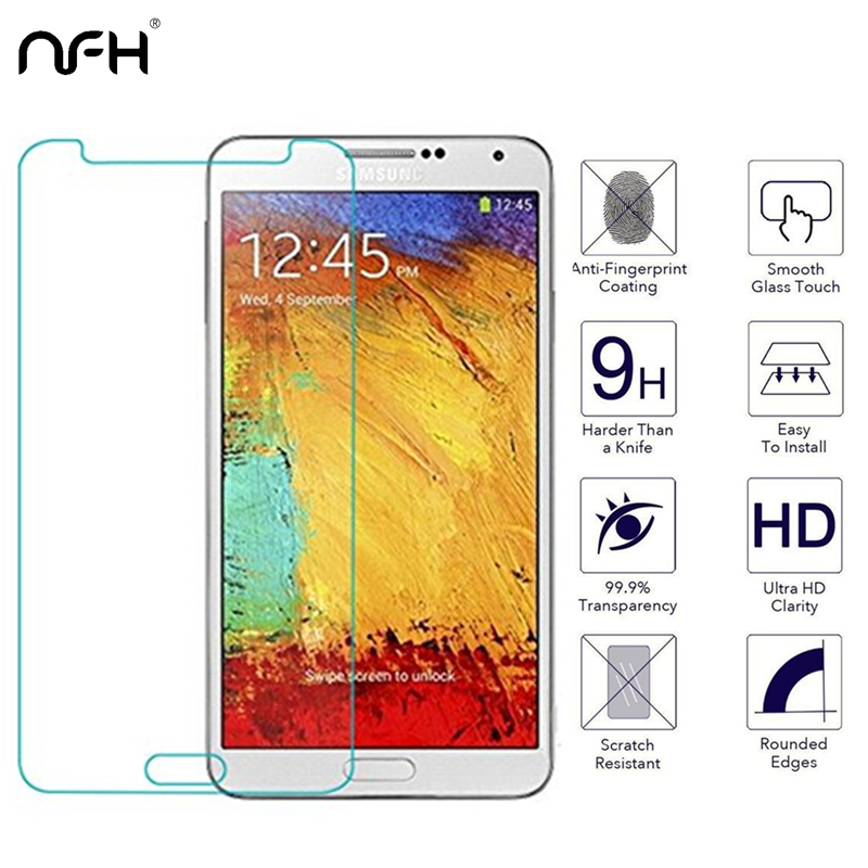2pcs Protection Glass Tempered Glass For Samsung S2 Galaxy S3 S4 S5 Note 2 Note 3 Note 4 Screen Protector Explosion Note 5 Glass